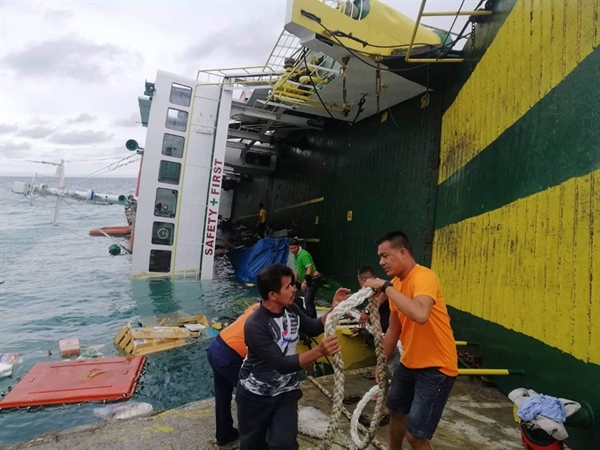 PCG: More Than 160 Rescued after Ferry Tilts in Cebu